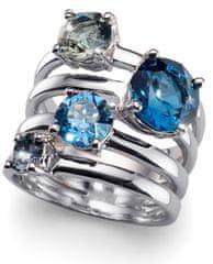 Oliver Weber Originálne prsteň Duo 41122 BLU