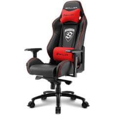Sharkoon gamerski stol Skiller SGS3, črn/rdeč