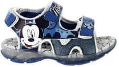 Disney by Arnetta chlapčenské svietiace sandále Mickey Mouse