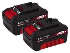 Einhell Akkumulátor Power X-Change 18V (2x4,0 Ah) Twinpack Aku