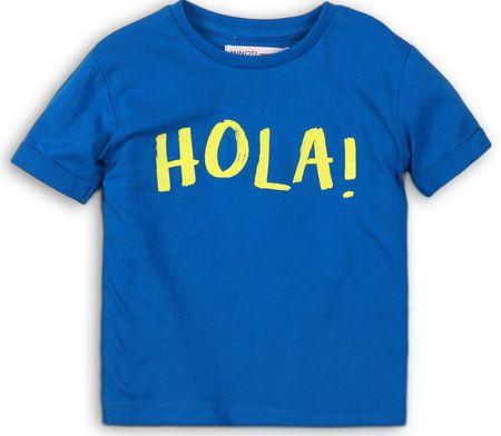 Minoti koszulka chłopięca 74 - 80 niebieska