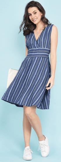 Lin Blanc dámské šaty Kansas 38 tmavě modrá