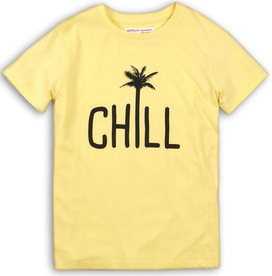 Minoti chlapecké tričko 140 žlutá