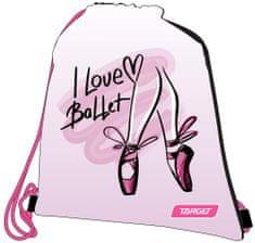 Target vrečka za copate I love ballet 26278