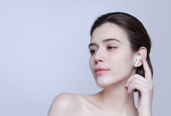 Bezdrátová Bluetooth sluchátka Xiaomi Mi AirDots Pro, dotykové ovládání, hands-free, hlasový asistent, automatické párování