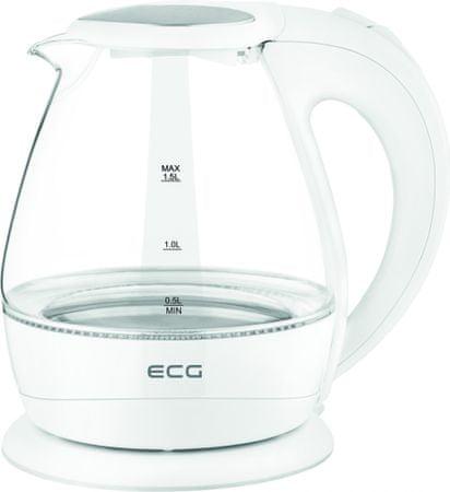 ECG czajnik elektryczny RK 1520 Glass