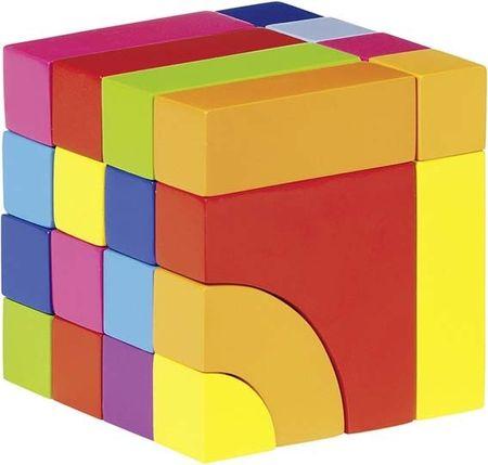Goki gradbene kocke in sestavljanka v enem