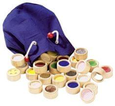 Goki Hmatová hra II - rôzne povrchy v bavlnenom vrecúšku