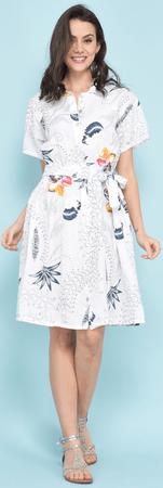 Lin Blanc női ruha Arizona 44 fehér