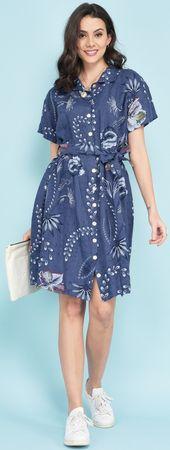 Lin Blanc női ruha Arizona 36 sötétkék