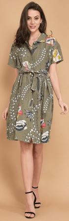 Lin Blanc női ruha Arizona 36 khaki