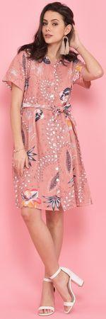 Lin Blanc női ruha Arizona 36 rózsaszín
