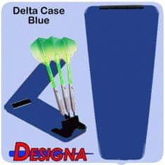 Designa Puzdro na šípky Delta Solid Case - Blue Black