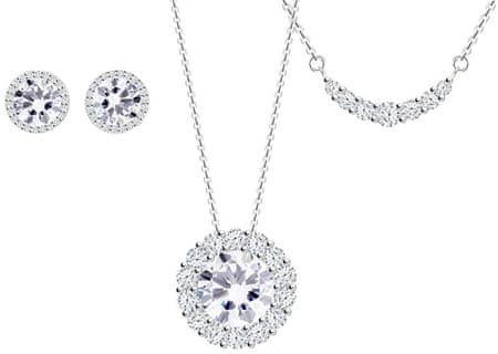 d6a24b792 Strieborná súprava šperkov Lynx 5268 00 (retiazka, prívesok, náušnice,  náhrdelník) striebro ...