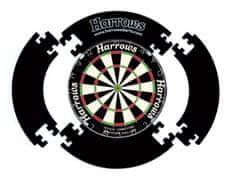 Harrows Surround 4 Piece Dartboard - kruh okolo terča - čierny
