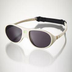 Ki-ET-LA Dětské sluneční brýle JokaLa (2-4 roky) - krémové