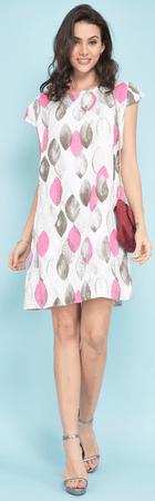Lin Blanc női ruha Dallas 36 fehér