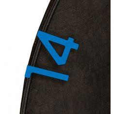Unicorn Spare Numbers Set Blue - Náhradní čísla pro sisalové terče
