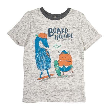 Garnamama chlapčenské tričko 128 sivá