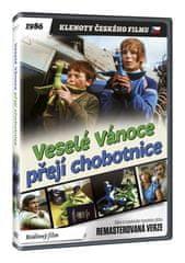 Veselé Vánoce přejí chobotnice - edice KLENOTY ČESKÉHO FILMU (remasterovaná verze) - DVD
