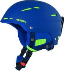 Alpina Sports smučarska čelada Biom, mat modra, 54-58 - Odprta embalaža