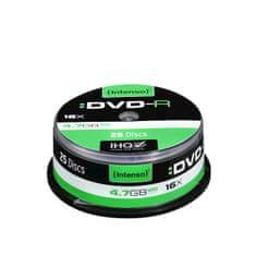 Intenso DVD-R medij 4,7 GB, 16x, 25 kosov na osi