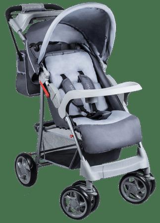 Lionelo wózek sportowy EMMA PLUS Grey