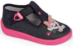 Raweks dievčenské papučky Ula