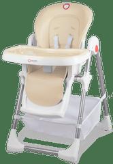 Lionelo Jídelní židlička LINN PLUS