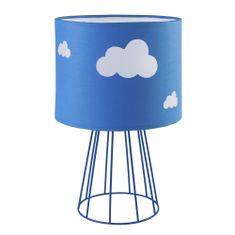 TK Lighting SKY 2910 modrá, stolná lampa