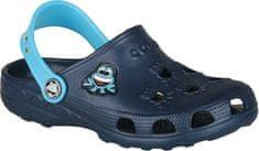 Coqui Dětské pantofle Little Frog Navy/Blue 8701-100-2118