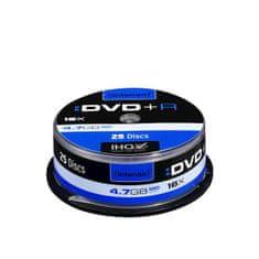 Intenso DVD+R medij 16x, 4,7GB, 25 kosov na osi