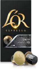 L'Or Onyx Intenzita 12 - 10 ks hliníkových kapslí