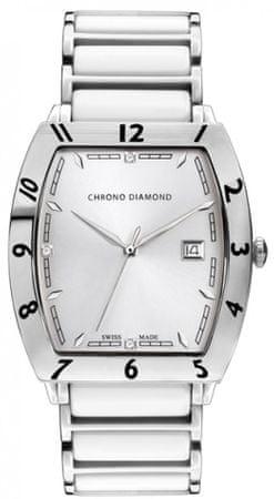 Chrono Diamond pánské hodinky 10300A Herrenuhr Leandro