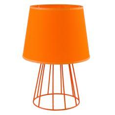 TK Lighting SWEET 3117 oranžová, stolní lampa