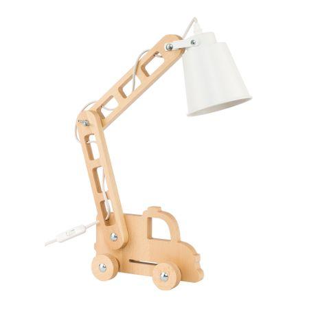 TK Lighting FIRE 2992 fehér, asztali lámpa