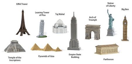 Safari Ltd. Tuba - A világ épületei