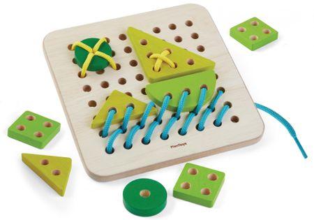 Plan Toys Šnúrovacia tabuľka