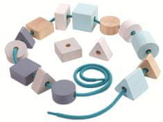 Plan Toys Felfűzhető pasztell gyöngyök