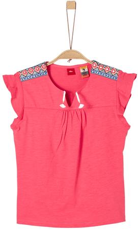 s.Oliver dekliška majica, M, rdeča
