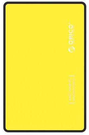 Orico zunanje ohišje za HDD/SSD 6,35 cm, SATA3, rumeno