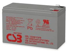 Socomec nadomestna baterija za UPS, 12V, 9Ah, HITACHI-CSB HRL 1234W