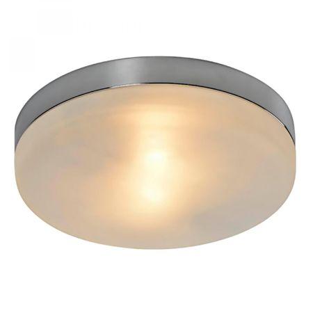 TK Lighting stropna svetilka AQUA 4012 , krom/bela
