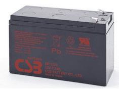 Socomec nadomestna baterija za UPS, 12V, 7.2Ah, HITACHI-CSB GP 1272 F2