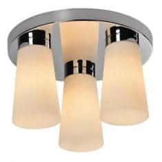 TK Lighting AQUA 4013 chróm / biela, stropné svietidlo