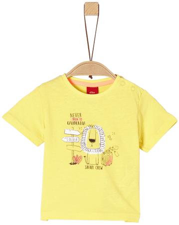 s.Oliver fiú póló 68 sárga