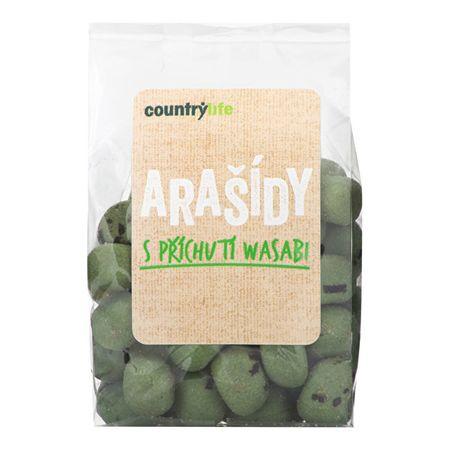 Country Life Arašidy s príchuťou wasabi 100 g