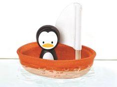 Plan Toys jadrnica s pingvinom