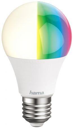 Hama WiFi LED izzó, E27, RGB
