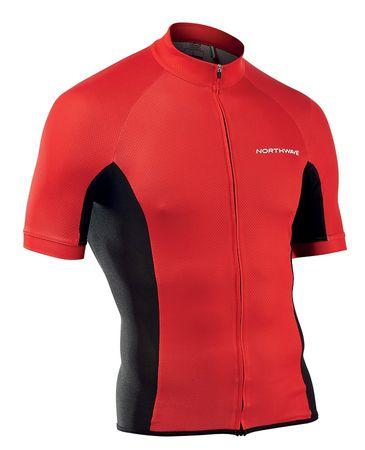 Northwave kolesarska majica Force Jersey Short Sleeves, XL, rdeča